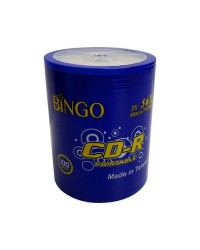 BİNGO 56X 700MB 100 lü Printable CD-R İnk-Jet Boş Cd