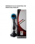 DRİVERLESS GZ-010 5000K PİXEL USB MIKROFONLU WEBCAM